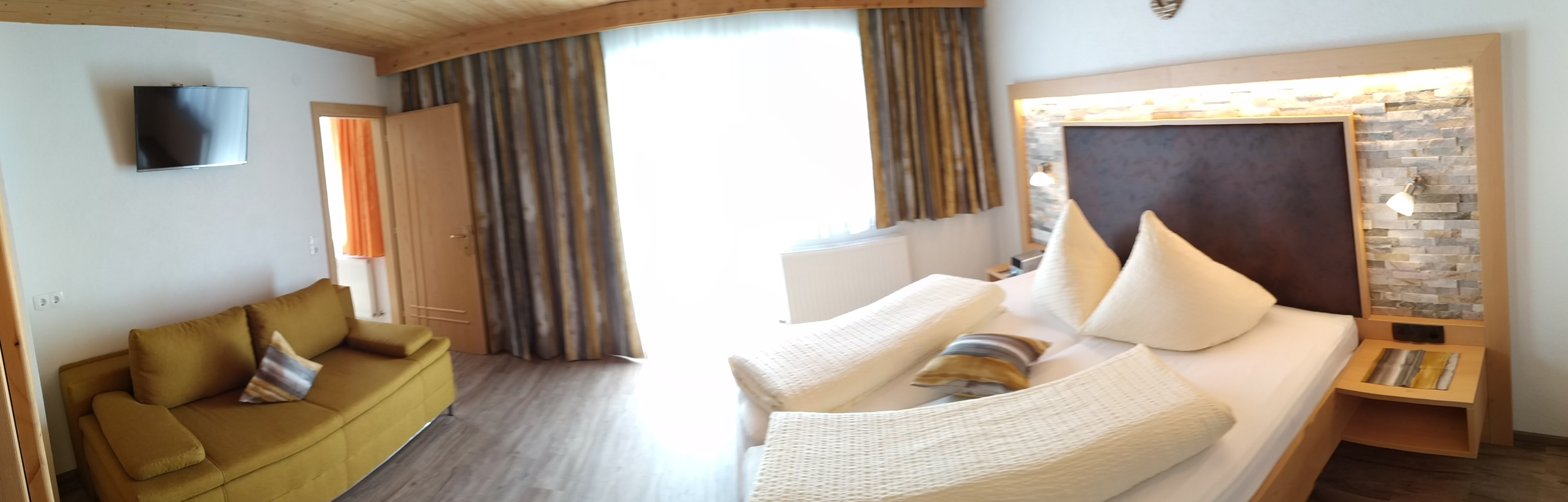 Zimmer 2 - für 1-4 Personen